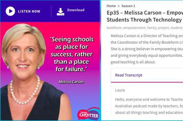 Empowering students through technology: podcast