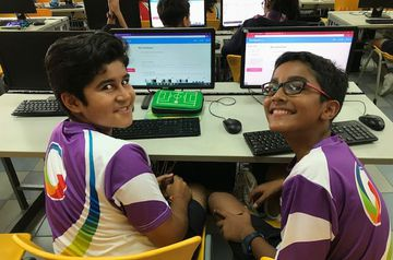 Students collaborate to create ICT Class book